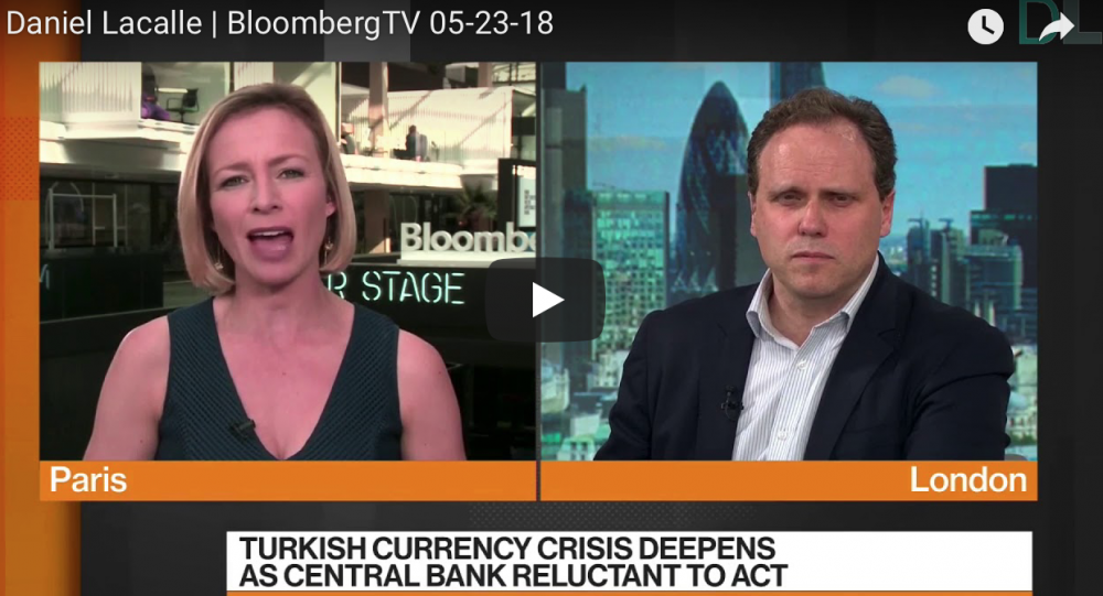 My comment at Bloomberg TV (London)