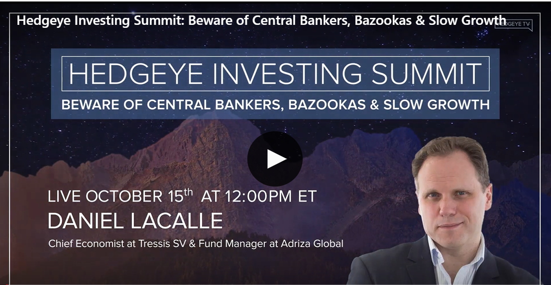 Interview on Hedgeye Investing Summit